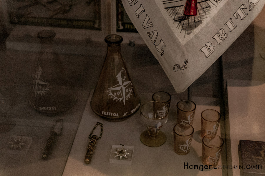 1951 souvenirs from the Festival of Britain found at the V&A Museum