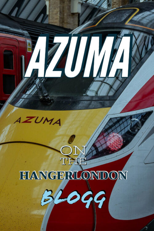 Azuma, London's newest high speed train made by Hitachi