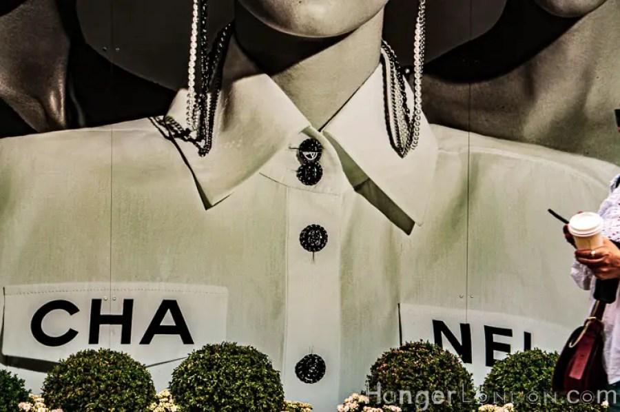 Chelsea in bloom Chanel window Shirt