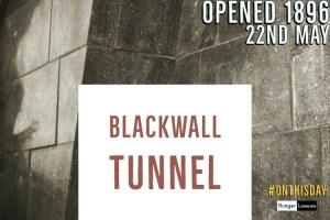 blackwall tunnel opened 1896