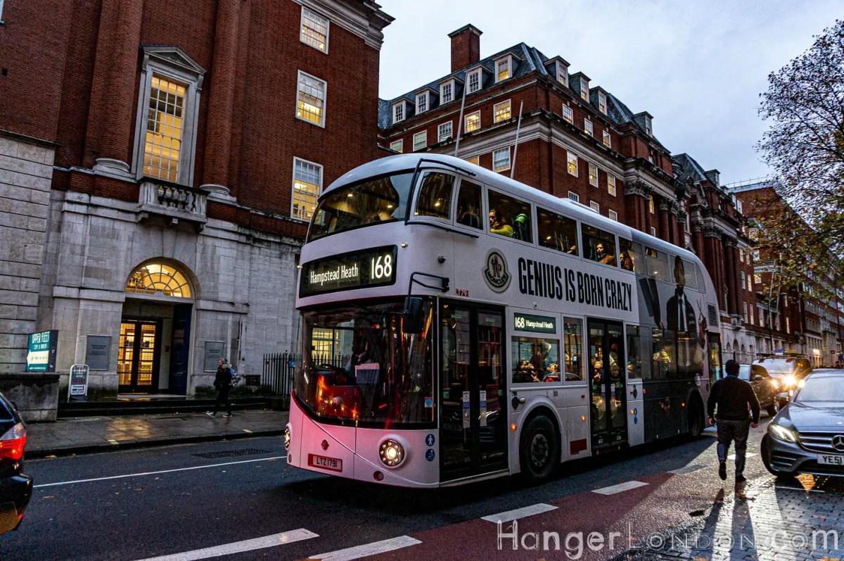 Genius is Born Crazy - Routemaster Boris Bus