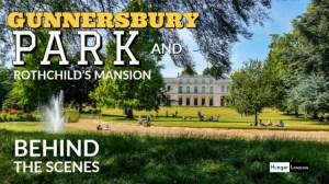 Gunnersbury park with a hidden rothchilds mansion
