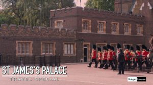 St James's Palace the most senior Throne