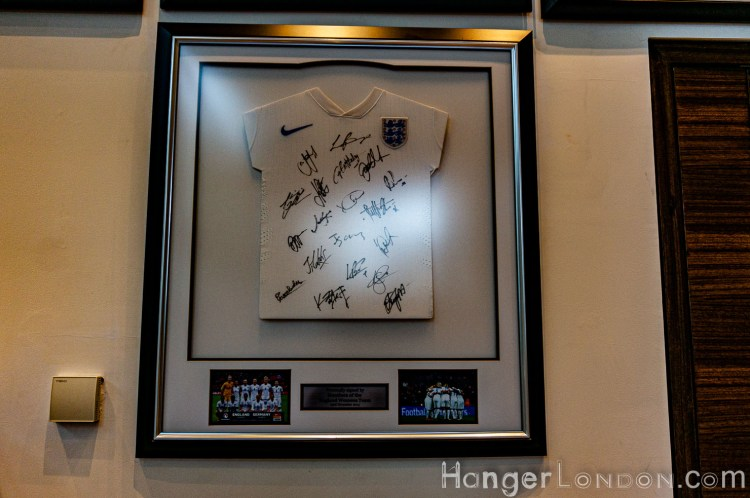 hilton womens england team signatures