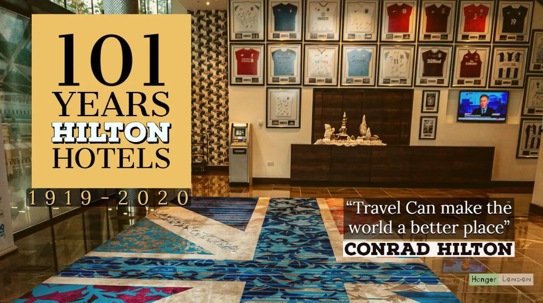 101 years of hilton hotel