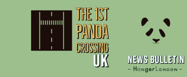 Uk First Panda Crossing