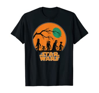 Star Wars Characters Trick Or Treat Halloween T-Shirt 1