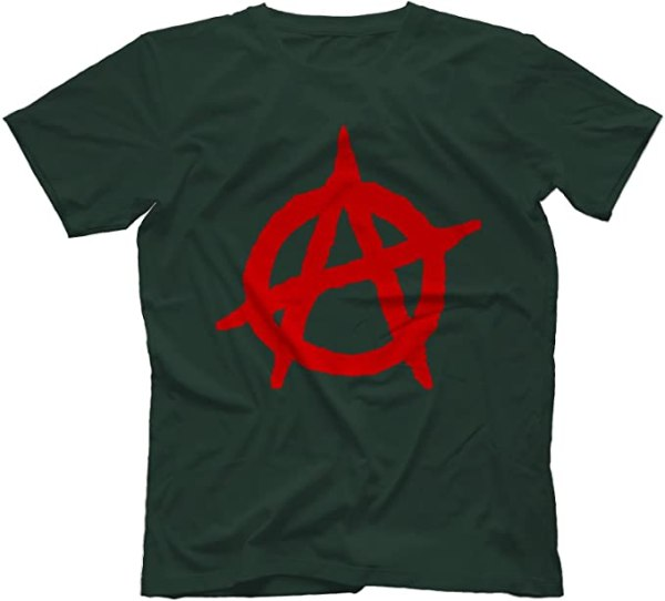 Anarchy Punk T-Shirt 100% Cotton 1