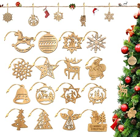 16Pcs Christmas Crafts Kits for Christmas Party Tree 1