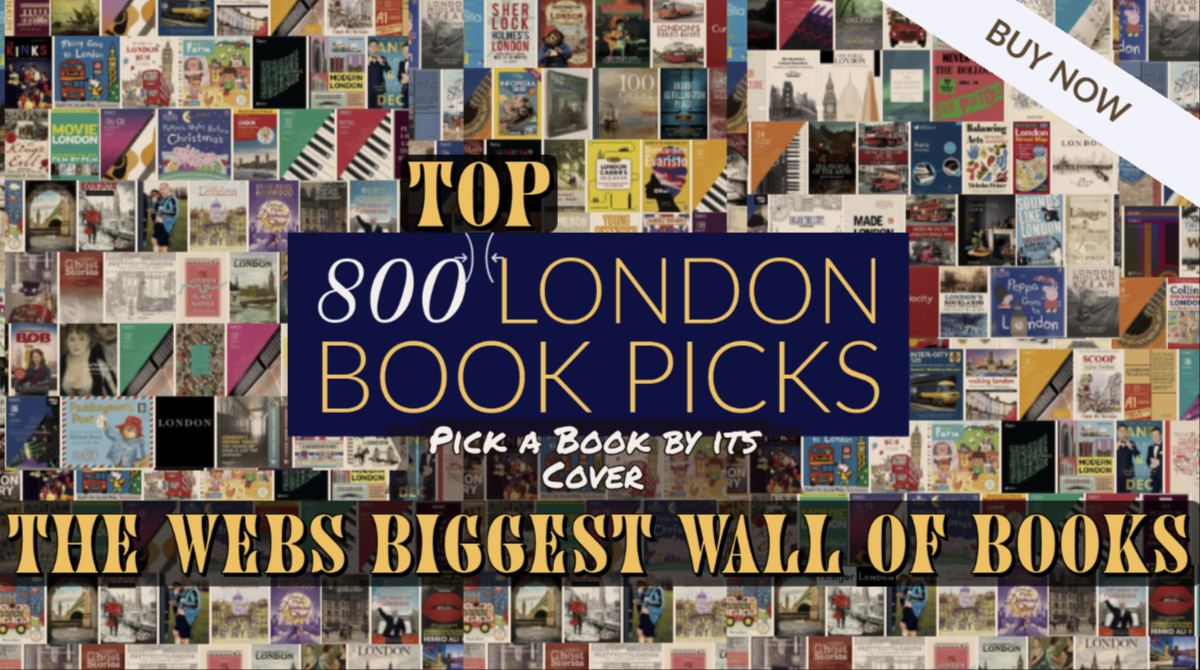 800 London book covers you can buy now