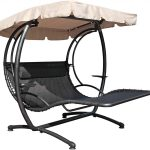 Double Hanging Chaise Lounger For Two Person