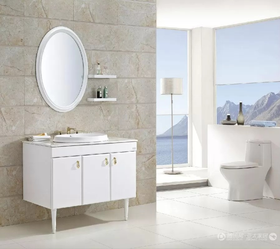 100 X 48 Cm Rectangular Sink Bathroom Vanity Floating