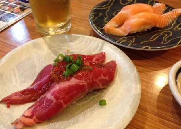 韓国でもビールとお寿司