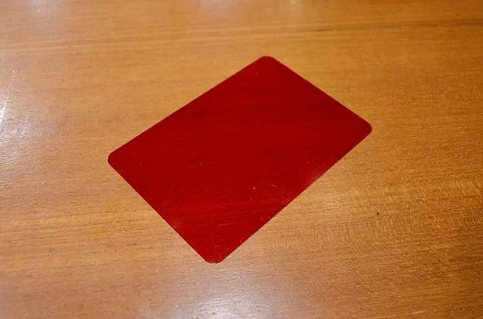 暗記用の赤いシート