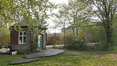 Bryghuset i parken foran Fængslet i Horsens
