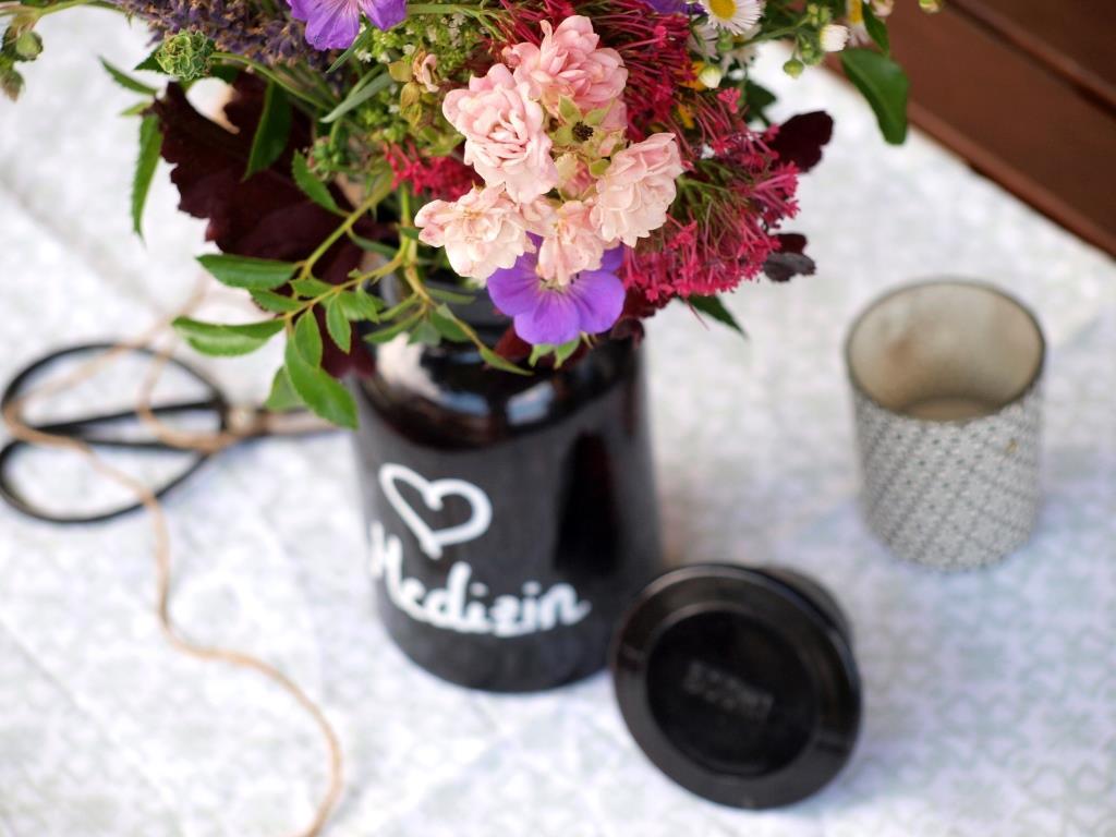 Meine Herzmedizin: ein bunter Sommerblumenstrauß