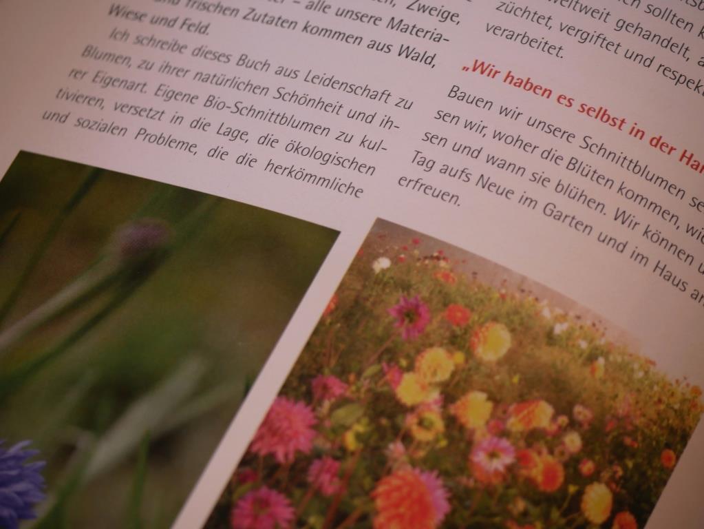 Slow flowers - biologisch angebaute Schnittblumen aus der Region