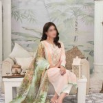 Summer Medley Lawn Printed And Embroidered Collection D-1472 B 1