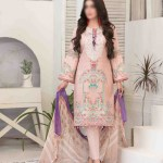 Summer Medley Lawn Printed And Embroidered Collection D-1475 B 1