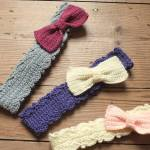 Bow Peep Headbands by HanJan Crochet Hannah Cross crochet pattern
