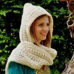 The Pickpocket Hood by HanJan Crochet Hannah Crochet Hannah Cross crochet pattern