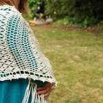 Vintage Lace Shawl by HanJan Crochet Hannah Cross crochet pattern