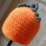 The Pumpkin Hat by HanJan Crochet Hannah Cross crochet pattern