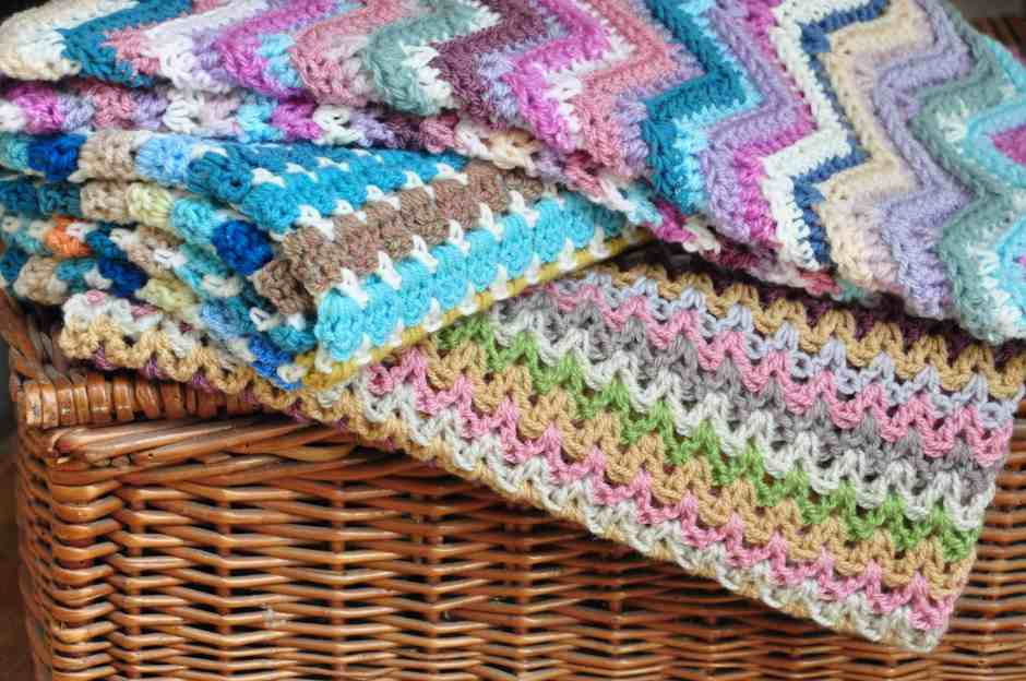 Yarn Stash Series - free crochet patterns from HanJan Crochet Hannah Cross