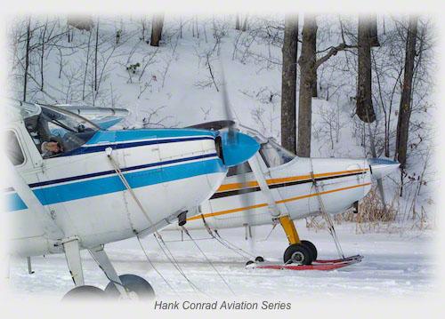 Skiing Cessna Gathering