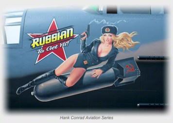 B-25 Russian Ta Get Ya!