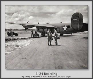 B-24 Boarding