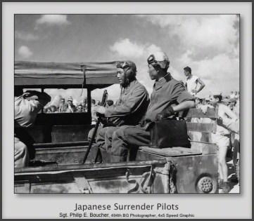 Japanese Surrender Pilots
