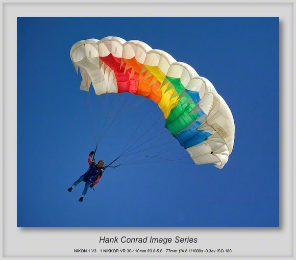 Skydiving Color