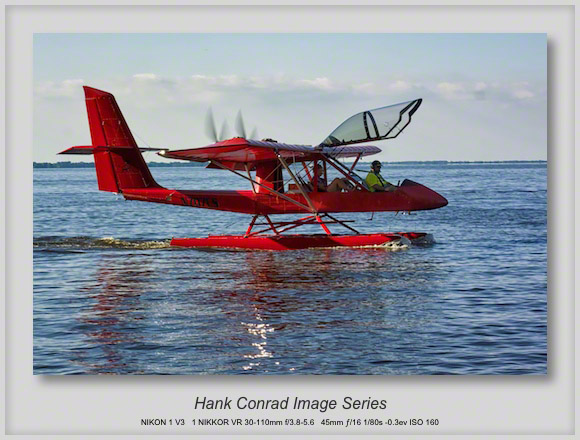 Float Plane Homebuilt Twin