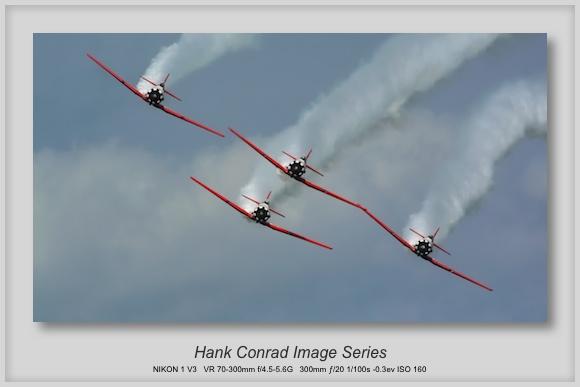 AeroShell Aerobatic Team's AT-6 Texans at the Chicago Air & Water Show