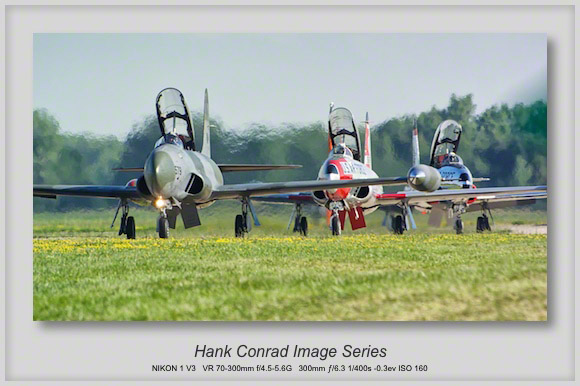 T-33 Shooting Stars Taxiing