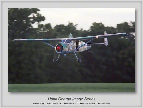 Max Holste MH-1521C Broussard Landing