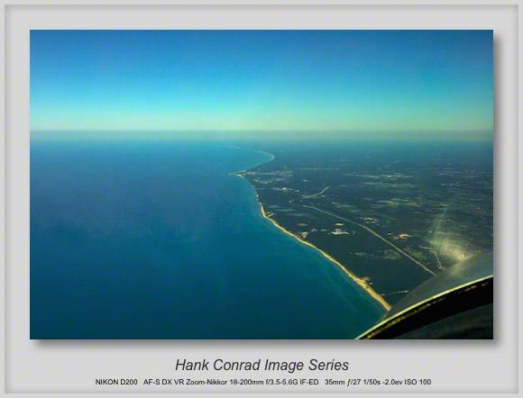 CAVU above Michigan