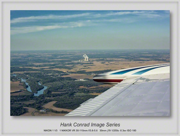 Fall Flying above Northern Illinois