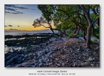 Big Island Sunsets   Distant Maui