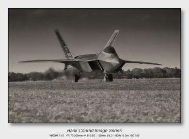 Nikon 1 V3 for Aviation | F-22 Raptor