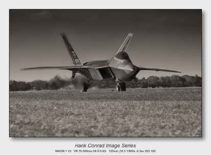 Nikon 1 V3 for Aviation   F-22 Raptor