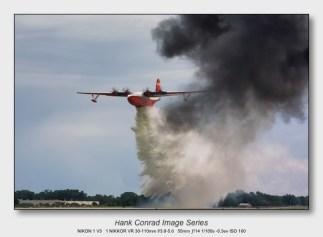 Nikon 1 V3 for Aviation   Martin JRM Mars Dropping Water