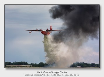Nikon 1 V3 for Aviation | Martin JRM Mars Dropping Water