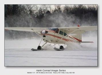 Ski Plane Weekend   C-185 on Skis