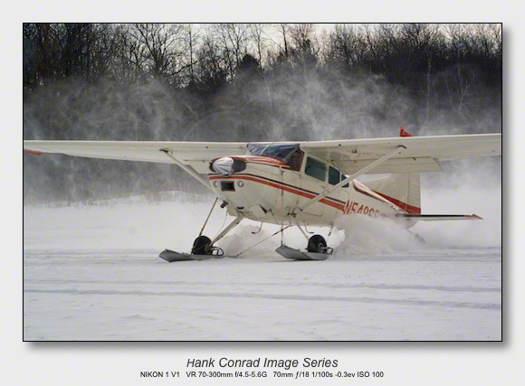 Ski Plane Weekend | C-185 on Skis