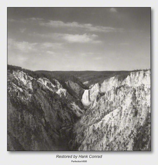Yellowstone 1953 | Yellowstone Falls