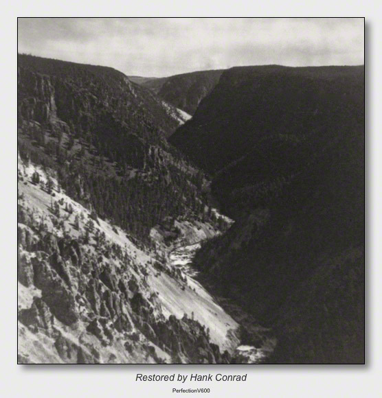 Yellowstone 1953 | Yellowstone Canyon