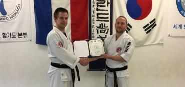 Jeilkwan receives membership certificate