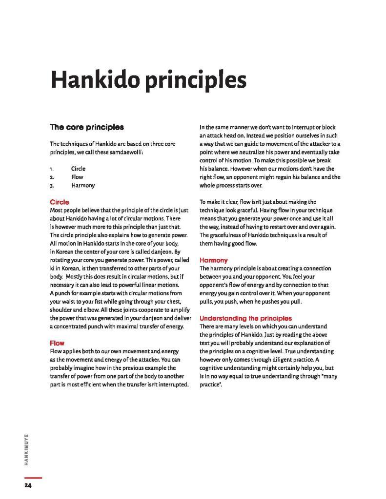 hankido principles